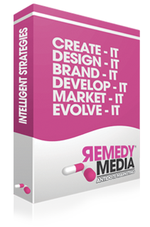 Remedy Media: Create it, design it, brand it, develop it, market it, evolve it