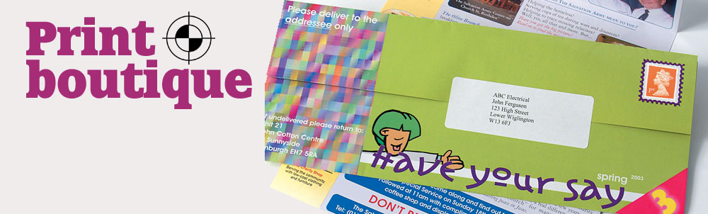 Direct Mail Printing in West End, London